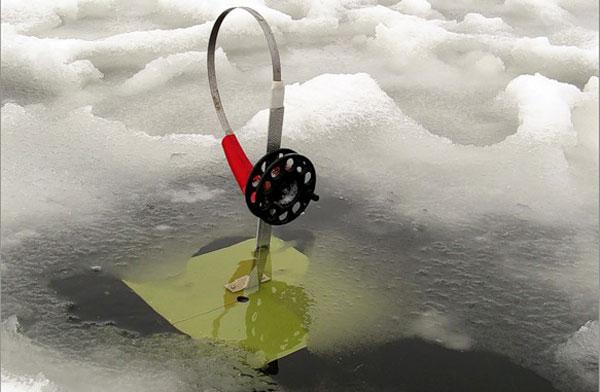подледная рыбалка флажки